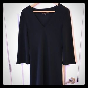 Donna Ricco Black Fit and Flare Dress